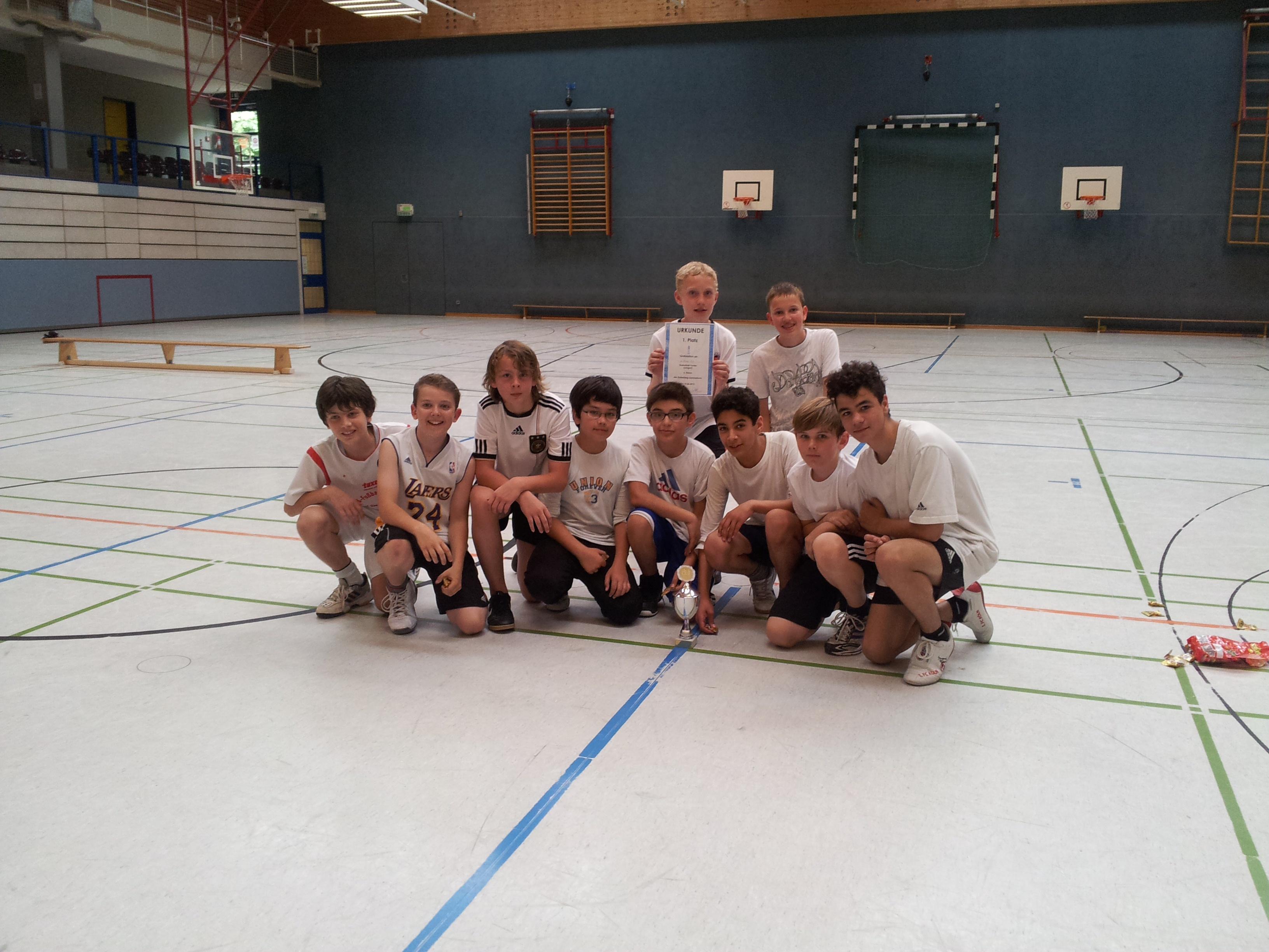 Basketbal-Turnier der Klassen 6 2012 (1)