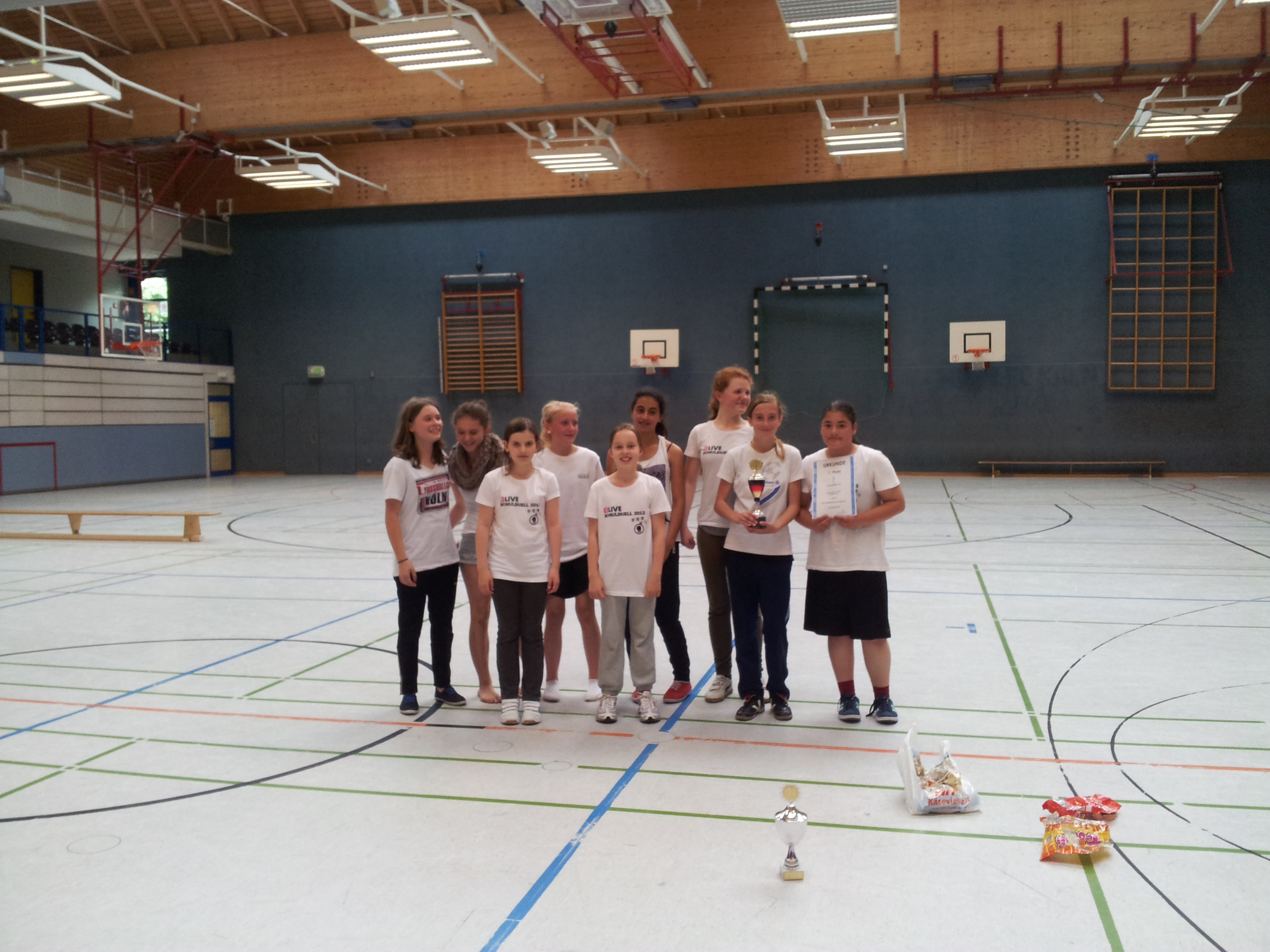 Basketbal-Turnier der Klassen 6 2012 (2)