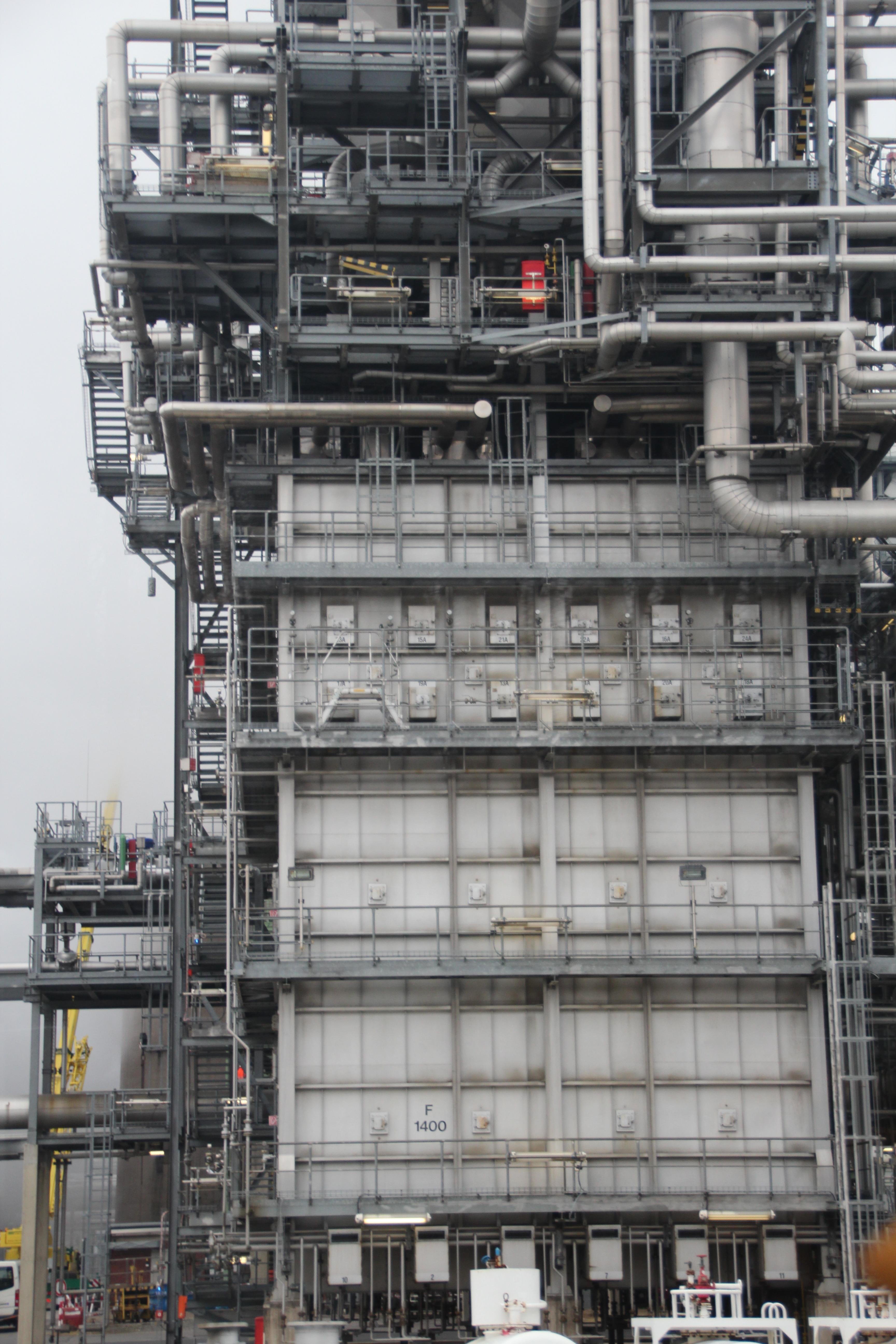 Besuch des Chemieunternehmens INEOS 2013 (1)