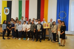 Chinesische Gastschüler am Gugy 2016 (1)